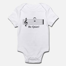 Musical Be Quiet Infant Bodysuit