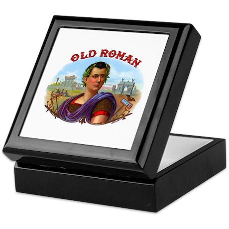 Old Roman Cigar Label Keepsake Box