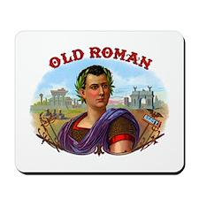 Old Roman Cigar Label Mousepad