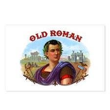 Old Roman Cigar Label Postcards (Package of 8)