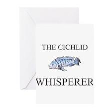 The Cichlid Whisperer Greeting Cards (Pk of 10)