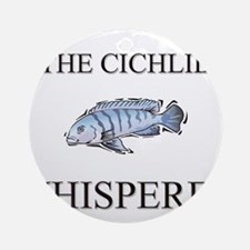 The Cichlid Whisperer Ornament (Round)