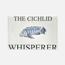 The Cichlid Whisperer Rectangle Magnet