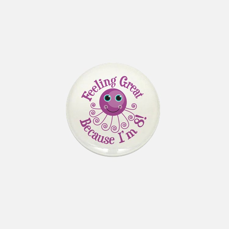 8th Birthday Mini Button
