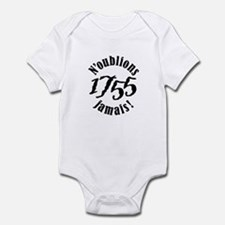 1755 Infant Bodysuit