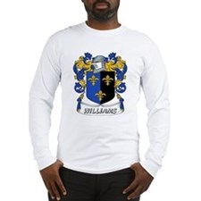Williams Coat of Arms Long Sleeve T-Shirt