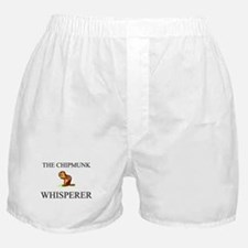The Chipmunk Whisperer Boxer Shorts