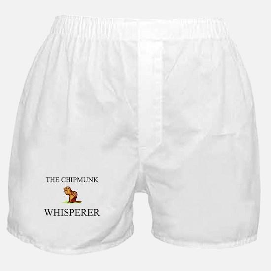 The Chipmunk Whisperer Boxer Shorts