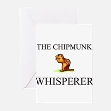 The Chipmunk Whisperer Greeting Cards (Pk of 10)