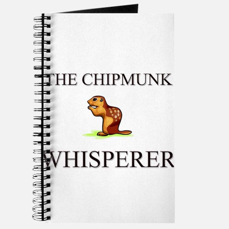 The Chipmunk Whisperer Journal