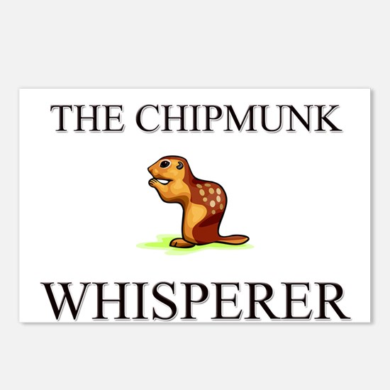 The Chipmunk Whisperer Postcards (Package of 8)