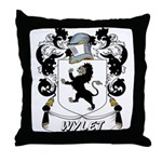 Wylet Coat of Arms Throw Pillow