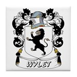 Wylet Coat of Arms Tile Coaster