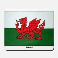 Wales Flag Mousepad