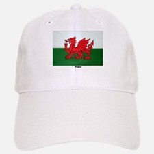 Wales Flag Baseball Baseball Cap