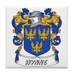 Wynne Coat of Arms Tile Coaster