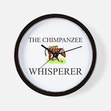 The Chimpanzee Whisperer Wall Clock
