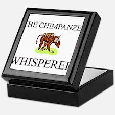 The Chimpanzee Whisperer Keepsake Box