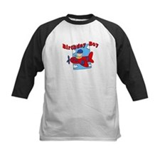 8th Birthday Airplane T-Shirt Tee