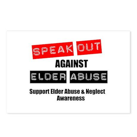 SpeakOut Against ElderAbuse Postcards (Package of