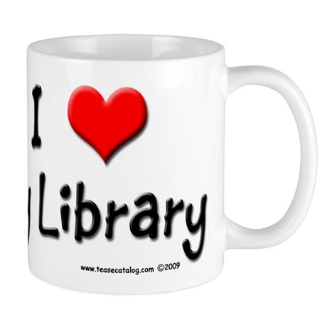 I luv my Library Mug