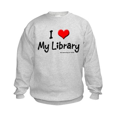 I luv my Library Kids Sweatshirt