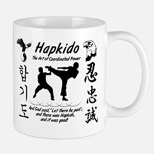 Hapkido Shirt trim white Mugs