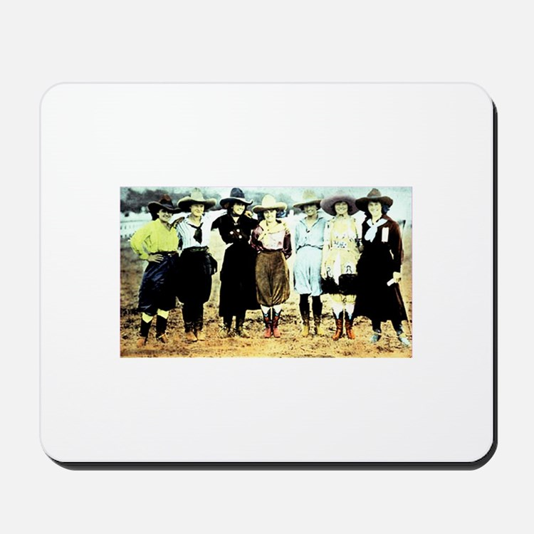 Cowgirls! Mousepad