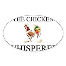The Chicken Whisperer Oval Decal