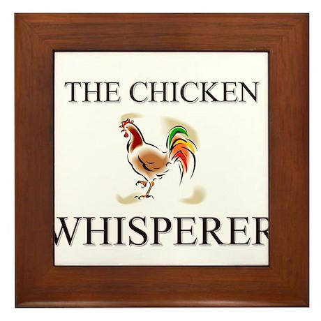 The Chicken Whisperer Framed Tile