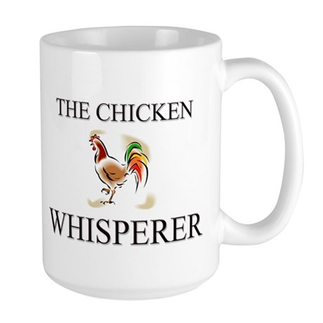 The Chicken Whisperer Large Mug