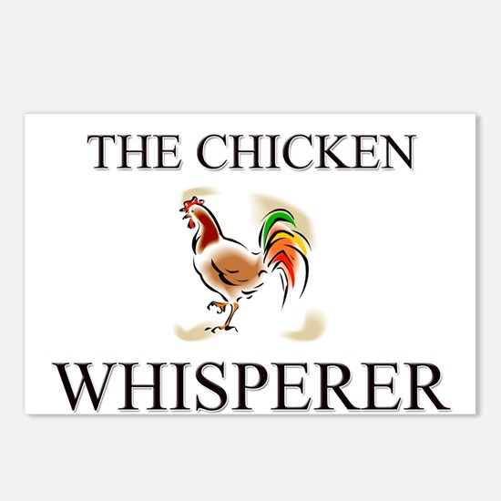 The Chicken Whisperer Postcards (Package of 8)