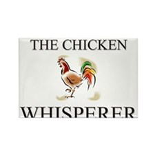 The Chicken Whisperer Rectangle Magnet