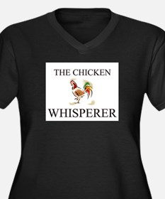The Chicken Whisperer Women's Plus Size V-Neck Dar