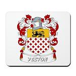 Yeston Coat of Arms Mousepad