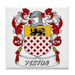 Yeston Coat of Arms Tile Coaster