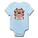Yeston Coat of Arms Infant Creeper