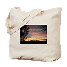 Life's Moments Sunset Tote Bag