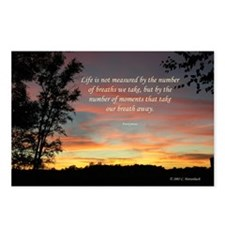 Life's Moments Sunset-Postcards (Package of 8)