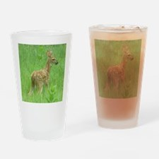 Spring Fawn Drinking Glass