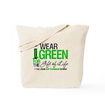 I Wear Green SCT Survivor Tote Bag