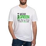 I Wear Green SCT Survivor Fitted T-Shirt