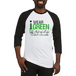 I Wear Green SCT Survivor Baseball Jersey