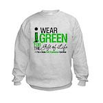 I Wear Green SCT Survivor Kids Sweatshirt