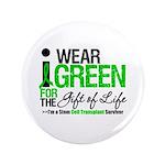 """I Wear Green SCT Survivor 3.5"""" Button (100 pack)"""