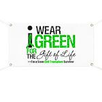 I Wear Green SCT Survivor Banner