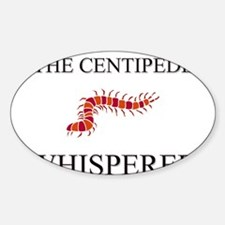 The Centipede Whisperer Oval Decal