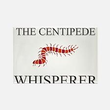 The Centipede Whisperer Rectangle Magnet