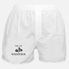 The Cat Whisperer Boxer Shorts