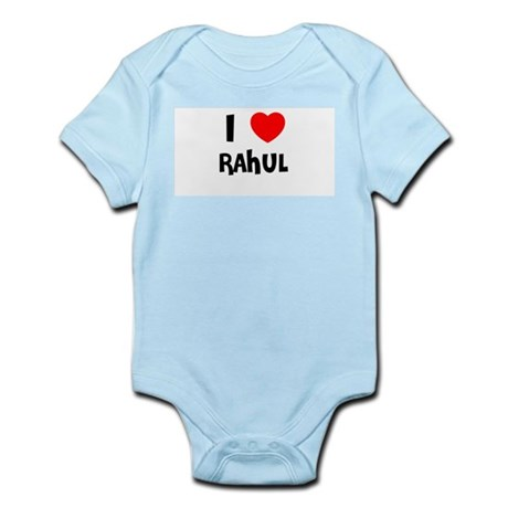 I LOVE RAHUL Infant Creeper